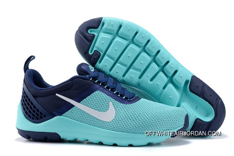 new style 74b74 8d542 Mens Nike Lunarestoa 2 Essential Shoes Navy Jade Green White 811372-009 New
